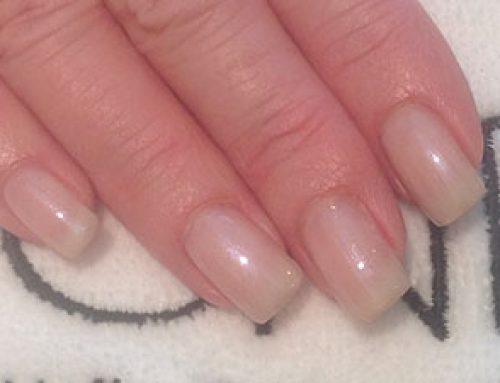 Luxurious Citrus Bridal Manicure